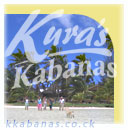 stay at Kura´s Kabanas on Muri Beach / Rarotonga (offers you the Kabanas, Family flats and a Backroad House)