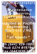 ask Pacific Engineering for all power generator questions