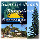 stay at Sunrise Beach Bungalows on Rarotonga