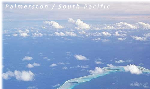 The island of Palmerston / Cook Islands / South Pacific